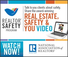 REALTOR® SAFETY :: Talk to your clients about safety.  Share the award-winning REAL ESTATE, SAFETY & YOU VIDEO :: WATCH NOW!